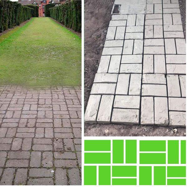diy paver floor mold